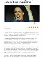 Éxito de Mari Carmen Molina en Algeciras
