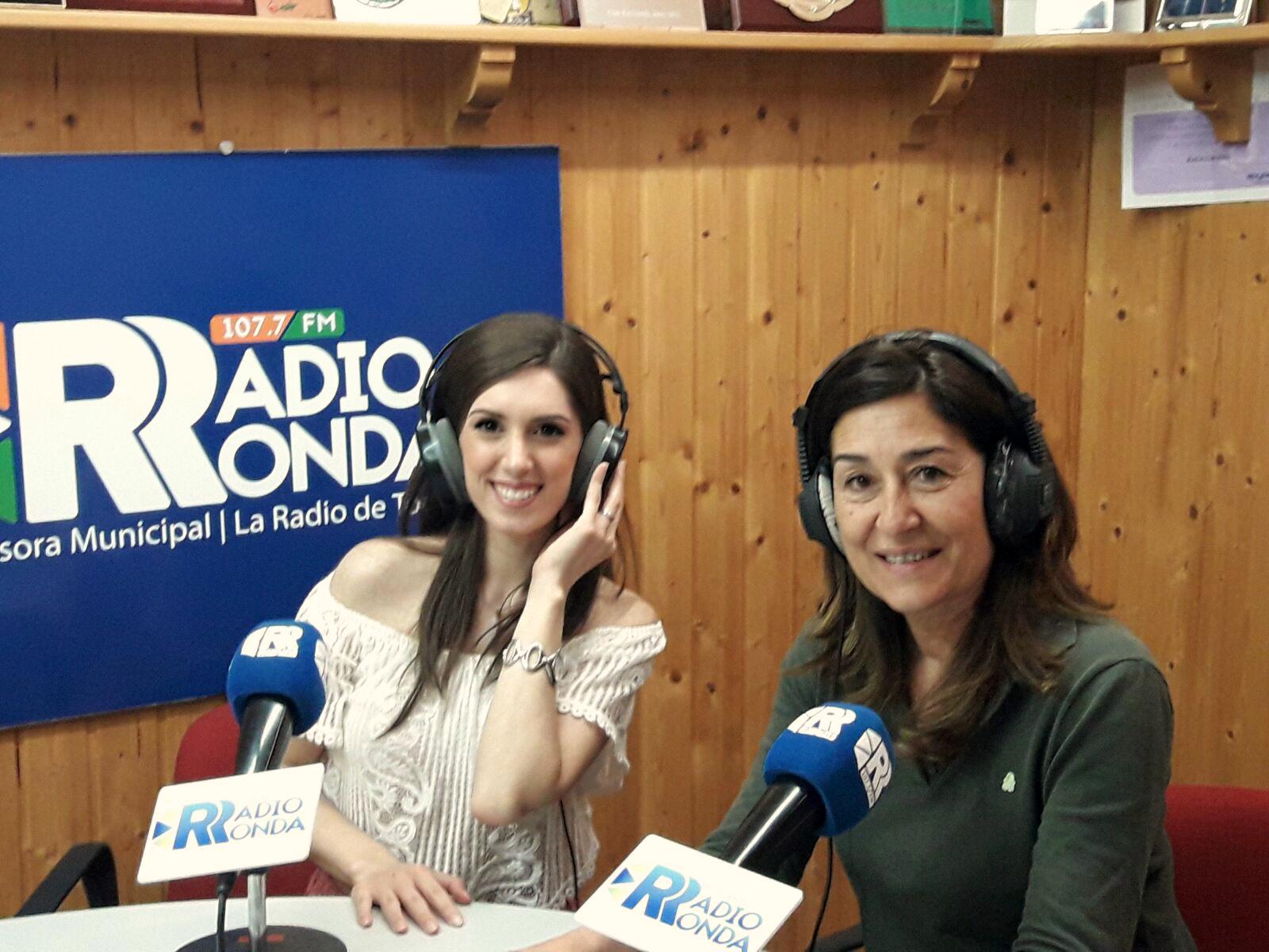 Entrevista a Maricarmen Molina en Radio Ronda con Milagros Calle