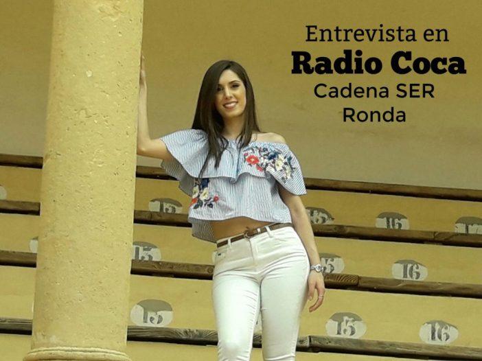 Entrevista a Maricarmen Molina en Radio Coca Cadena Ser Ronda