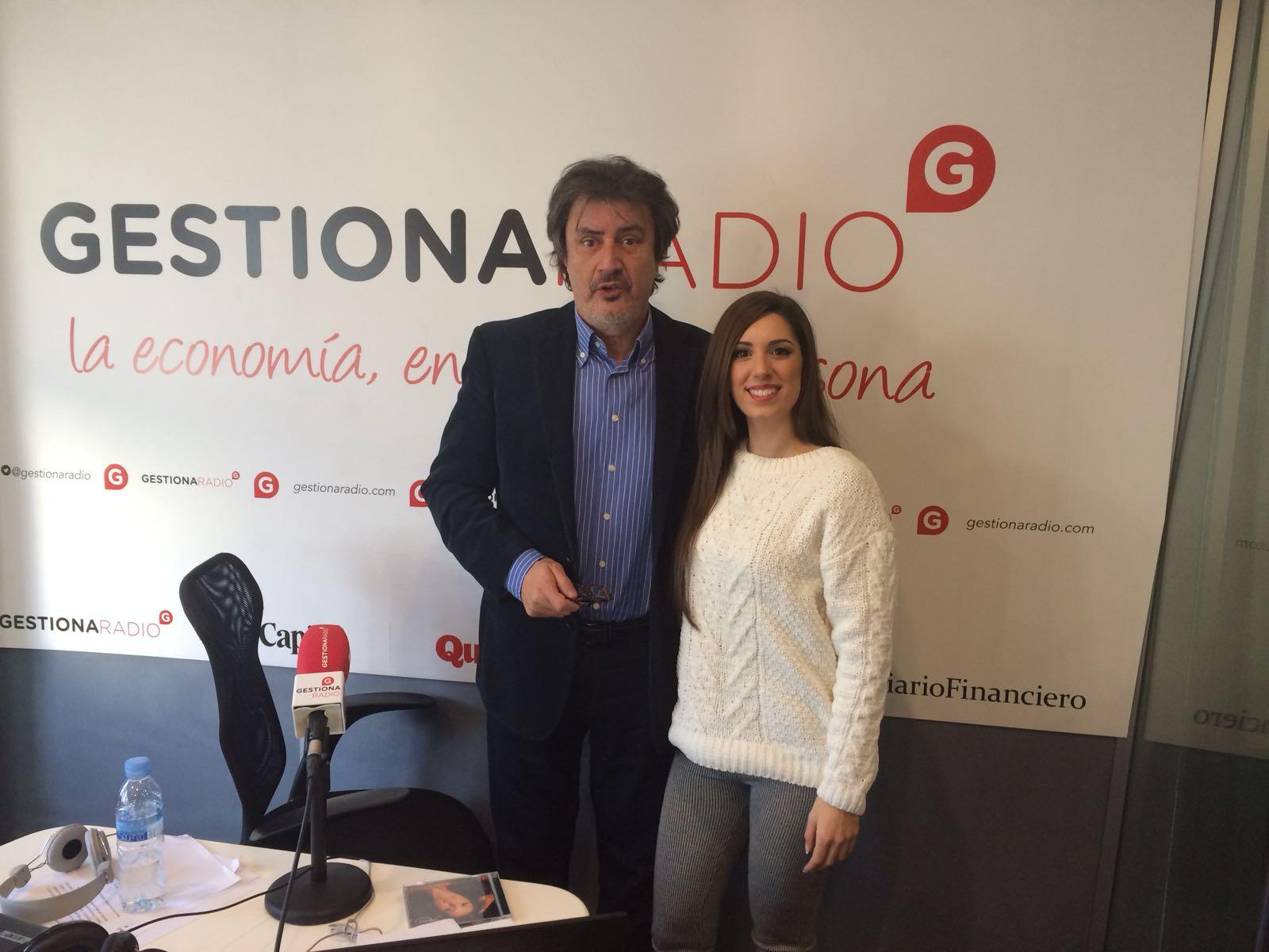 """Entrevista a Maricarmen Molina en Gestiona Radio """"Primera Hora"""" con Javier García Mateo"""