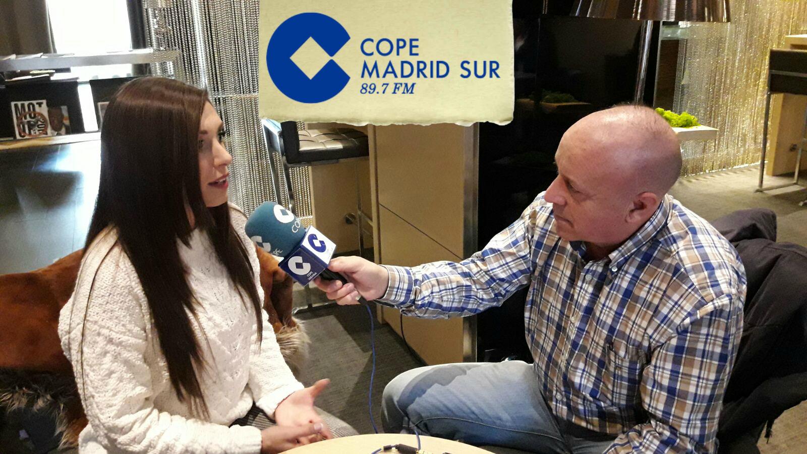 Entrevista a Maricarmen Molina en Cope Madrid con Rafael Vega
