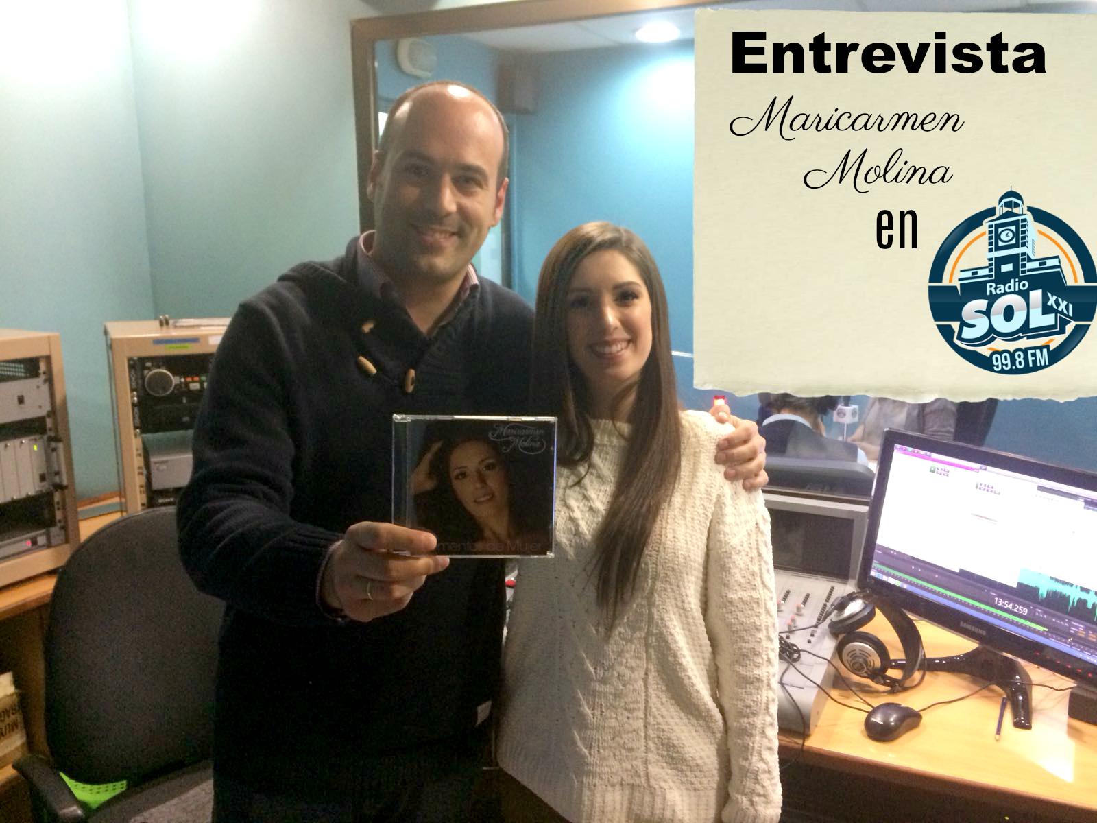 Maricarmen Molina en Radio Sol XXI con Victor Alfaro