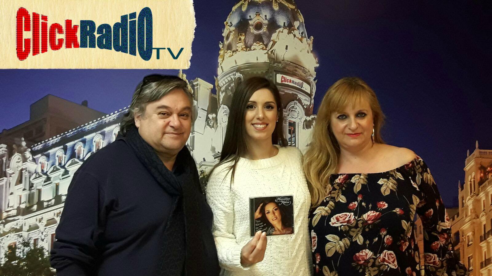Maricarmen Molina en ClickRadio TV con Marisa Garrido