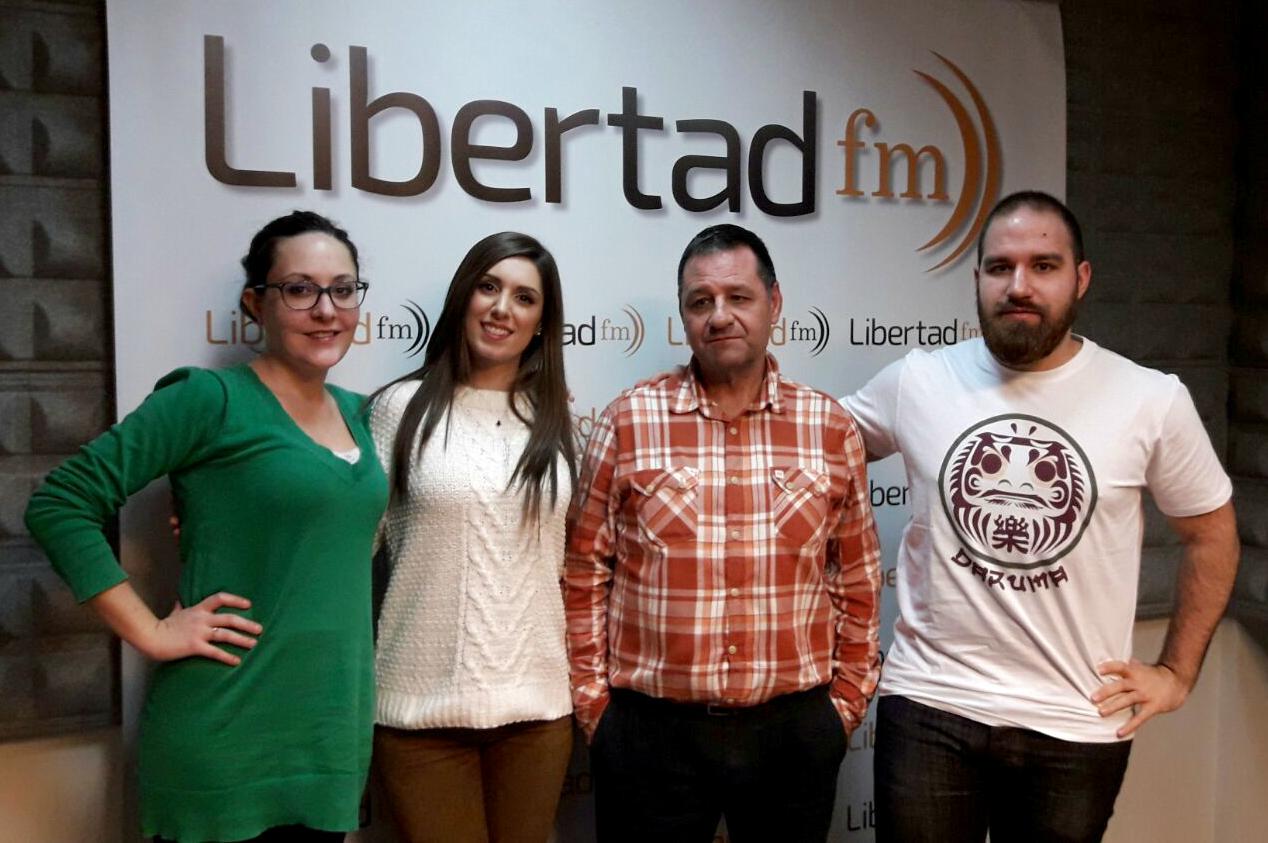 """Entrevista a Maricarmen Molina en Libertad FM en """"La hora del Taxi"""" con Pablo Soriano"""
